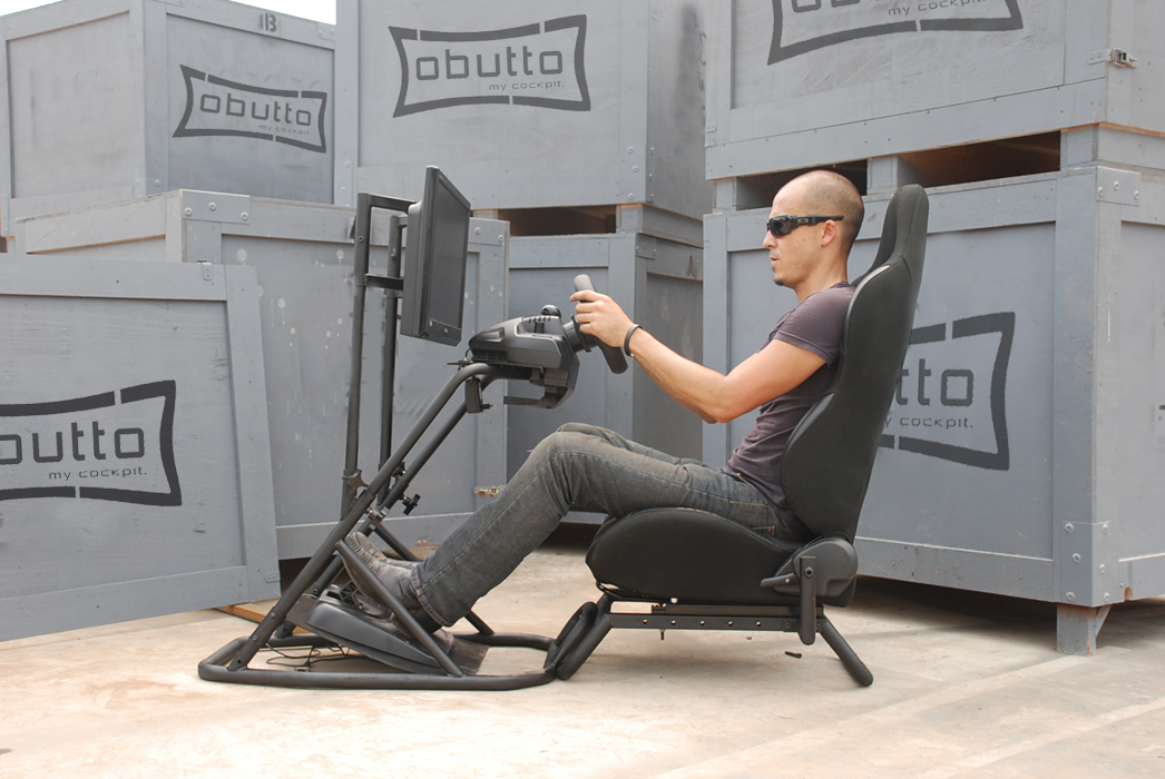 oZone Gaming Cockpit | Obutto | Ergonomic Gaming Chair