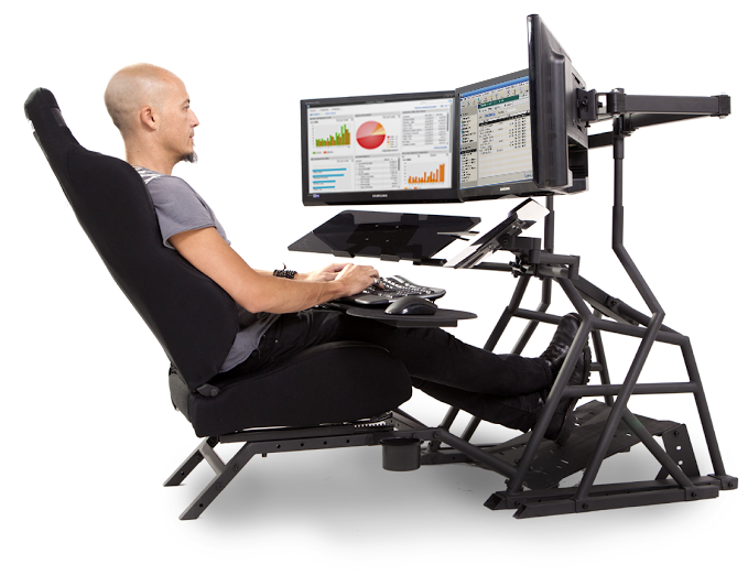 Ergonomic Computer Desk & Workstation | Obutto