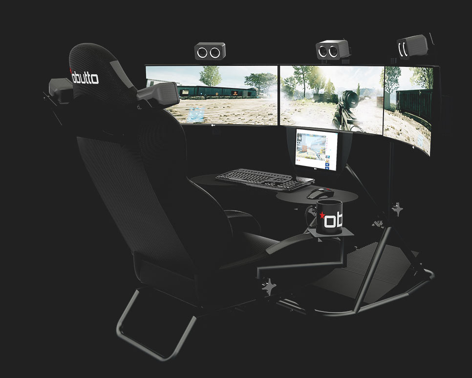 Gaming Cockpits The Best Racing Simulator Cockpits Available Obutto